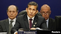 Los índices de aprobación del presidente Humala en Perú se han derrumbado un 18% desde el mes de abril.