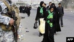 Сили безпеки охороняють шиїтських паломників у Кербалі