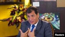 Ningún representante del gobierno de Rafael Correa acudió a la presentación de las quejas de la ley de comunicación.