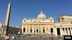 梵蒂岡聖伯多祿廣場(資料圖片)