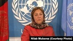 نیلاب مبارز، سخنگوی یوناما در کابل