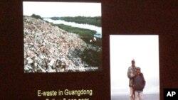 中国的电子垃圾毒素漂洋过海到美国