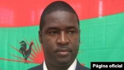 Liberty Chiyaka, secretário provincial da UNITA no Huambo