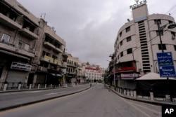 Jordan ႏိုင္ငံ Amman ၿမိဳ႕ ျမင္ကြင္း။ (မတ္ ၂၁၊ ၂၀၂၀)