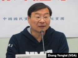 台湾在野党国民党立委曾铭宗
