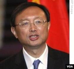 Menteri Luar Negeri Tiongkok, Yang Jiechi.