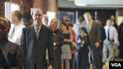 Konvencija poslodavaca gdje ljude dolaze ne bi li našli posao, Ohio, August 16, 2011(file photo)
