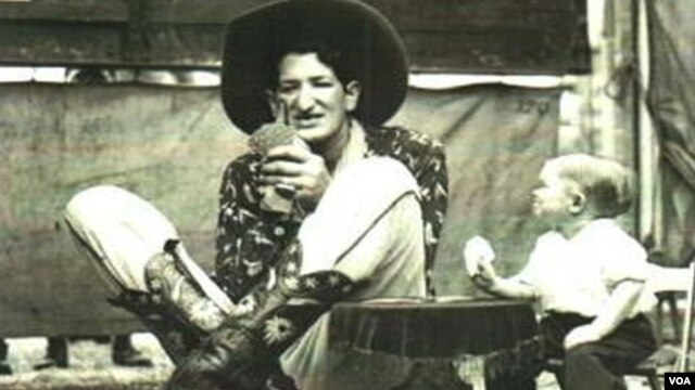 Džejk Erlik iz vremena dok je radio u cirkusu