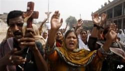 Pakistanski hrišćani protestuju u Pešavaru