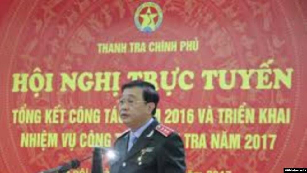 Phó Thủ tướng Trương Hoà Bình tại Hội nghị tổng kết của ngành thanh tra ngày 11/1/2017. (Ảnh: Đại Đoàn Kết)