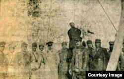 General Mirzə Rəbi Kəbirinin edam səhnəsi - Şapur Ənsarinin arxivindən