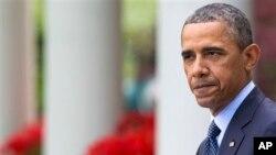 President Barack Obama at White House April 17, 2013