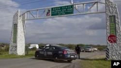 Autoridades estadounidenses, aseguran que el agente disparó luego de que la patrulla fue amenazado con armas de fuego del lado mexicano.