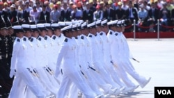 北京9.3大阅兵(2):检阅军队