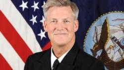 美國第七艦隊司令羅伯特•托馬斯(圖片來源:美國海軍)