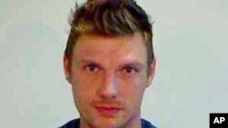 This Jan. 13, 2016 photo provided by the Monroe County Sheriff's Office shows singer Nick Carter. The former Backstreet Boys singer was arrested in Florida after a fight outside a bar.