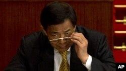 Los líderes chinos reemplazaron a Bo como jefe político de Chongqings poco después que Wang arribara a la capital.