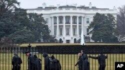 La caída del dron en terrenos de la Casa Blanca puso en alerta al Servicio de Inteligencia Nacional.