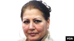 انیسه درانی، برای ۲۳ سال در صدای امریکا کار کرد