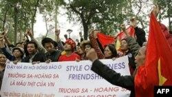 Kêu gọi tuần hành chống Trung Quốc ở Việt Nam và hải ngoại