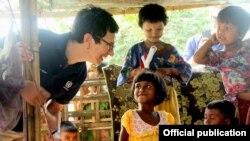 Ursula Mueller ရခိုင္ေျမာက္ပိုင္းေဒသခရီးစဥ္ (United Nations OCHA Myanmar)