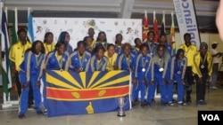 Iqembu labesifazana emdlalweni weVolleyball ele Harare City Ladies Volleyball Club.