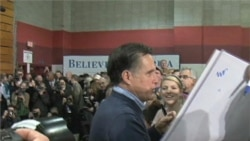 Video of Mitt Romney campaigning in New Hampshire