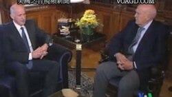 2011-11-05 美國之音視頻新聞: 希臘領導人就組建聯盟政府舉行會談