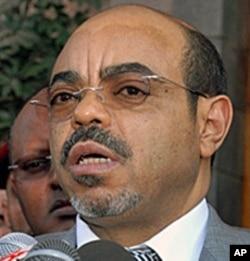 Ethiopian Prime Minister Meles Zenawi (file)