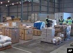 從澳大利亞運往中國的貨品(資料圖片)
