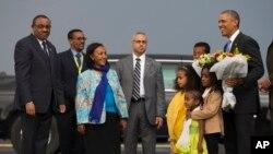 Presidente Obama na Etiópia
