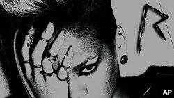 Rihanna唱片Rated R封面