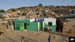 Bairro pobre de Luanda