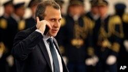 黎巴嫩外交部长纪伯伦·巴西勒