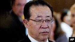 朝鮮代表團團長﹑副外相金桂冠星期二抵達紐約﹐星期四早上將會和美方代表舉行會談。