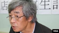 林荣基 (美国之音记者杨明拍摄)