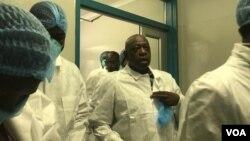 FILE: Preparing for coronavirus patients at Wilkins Hospital, Harare. (Photo: Mavis Gama)