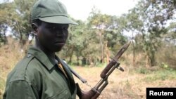 Soldado sul-sudanes