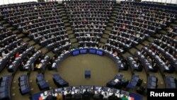 Европейский парламент, Страсбург, Франция.