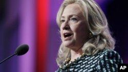 Državna sekretarka Hilari Klinton govori na Klintonovoj globalnoj inicijativi