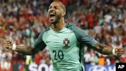 کوارزما، بازیکن شماره ۲۰ پرتگال که در آخرین دقایق توپ را وارد دروازۀ کروشیا کرد.