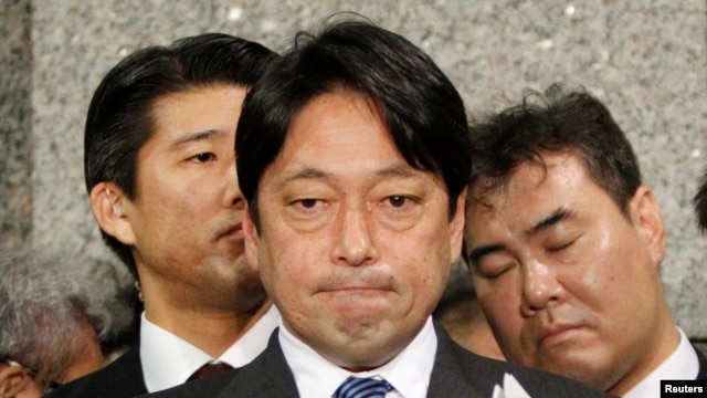 Japanski ministar odbrane Isunori Onodera na konferenciji za štampu u Tokiju, 5. februar,