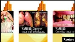 Con este tipo de imágenes las autoridades de salud de EE.UU. esperan hacer consciencia en los fumadores sobres las consecuencias de esa adicción.