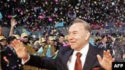Qazaxıstan prezidentinin və paytaxt şəhərin birgə ad günü keçirildi