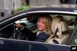 Abogada Alice Fisher, candidata a director del FBI.