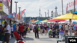 Millions of Americans enjoys county fairs every year