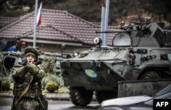 Rus askerleri bölgede devriye görevine başlamış durumda