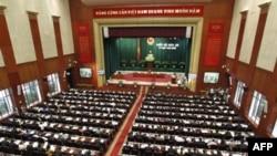 Một phiên họp Quốc Hội tại Việt Nam.