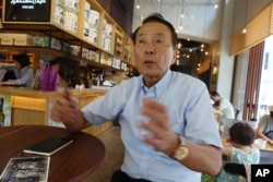 "Kim Ji Nho, 71, is a ""hibakusha,"" or atomic-bomb survivor, who was exposed to radiation when his mother, pregnant with him, went to the ruins of the city to search for a daughter who went missing in the blast. ""We 'hibakusha' and our groups share a clear goal, which is to abolish nuclear weapons from the world,"" Kim said."