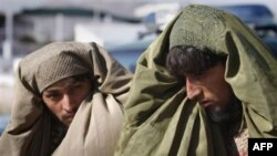 Burqa o'ranib, xuruj qilmoqchi bo'lganida qo'lga tushgan toliblar